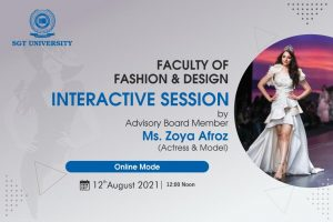 interactive session with Advisory Board Member Ms. Zoya Afroz