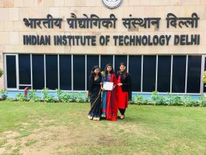 Scholorship from Textile Association of India
