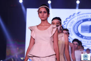Participated in Fashion Exhibition and Fashion Show in DAV United Festival 2018